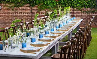 The Kimpton Brice Hotel wedding table setting
